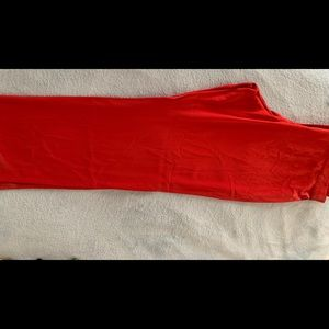 Pants - New with tags Ellen Fisher red silk pants 2X